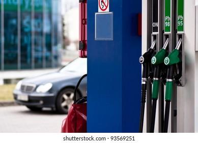 station gasoline