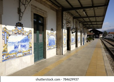 station of pinhao characteristic country in portugal