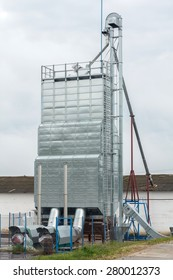 Stationary continuous flow grain dryer is designed to dry grain and similar free-flowing products such as wheat, barley, rape seed, maize etc.
