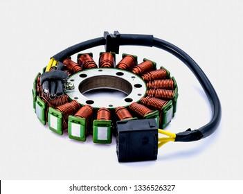 stator for starter motor