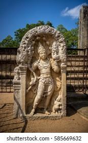 Statue in Anuradhapura