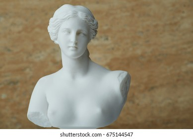 Statue of Aphrodite,ancient Greek god of beauty.