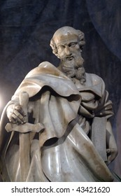 Statue of apostle St Paul