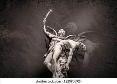 The statue Athena at the castle bridge in Berlin