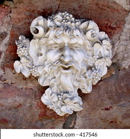 Statue of Bacchus or the Green Man