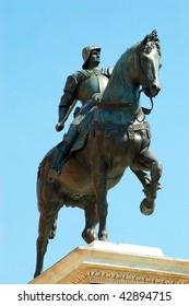 Statue of Bartolomeo in Venice