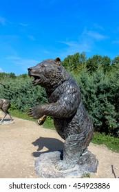 Statue of a bear