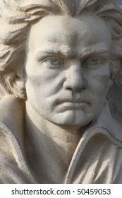 Statue of Beethoven, Martonvasarhely, Hungary