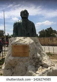 Statue of 'Bener Hakki Hakeri'/Nicosia or Turkish:Lefkosa - Turkish Republic of Northern Cyprus 12.05.2019