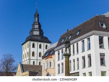 Statue of Bernhard II in the historic center of Lippstadt, Germany