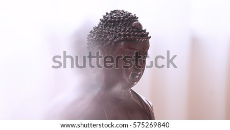statue of Buddha in