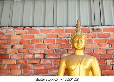 Statue of Buddha Thailand .  (Public place)
