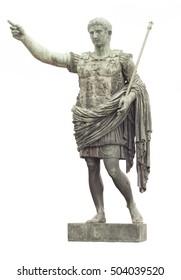 statue of Caesar in Rome