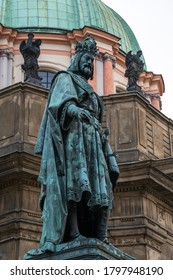 Statue of Charles the IV in Prague - Shutterstock ID 1797948190