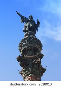A Statue of Christopher Columbus