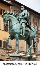 Statue of Cosimo I de' Medici by Giambologna, Florence, Italy
