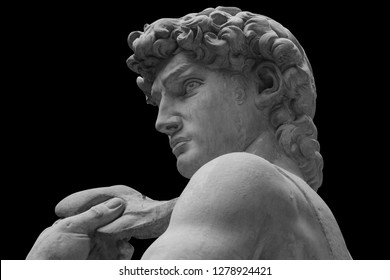 The statue of David by italian artist Michelangelo