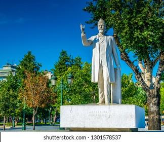 Statue of Eleftherios Venizelos in Thessaloniki, Greece