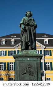 Statue of the famous composer Ludwig van Beethoven in Bonn/Germany
