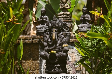 Statue of Ganesha - The God of wisdom and prosperity - Ubud, Bali, Indonesia