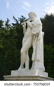 Statue in the gardens of Versailles, France