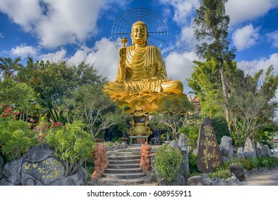 Statue Of Golden Buddha Da Lat, Vietnam