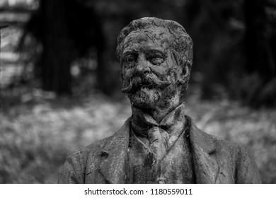The statue of Heinrich Kaspar von Mattoni