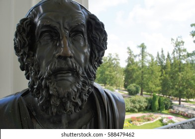Statue of Homer ancient greek poet