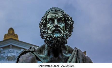 Statue of Homer, University of Virginia