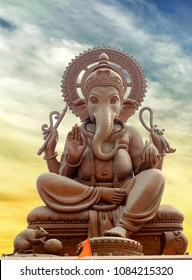 Statue of Indian God Ganesha