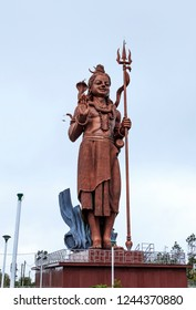 statue of indian god in mauritius