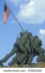 Statue of Iwo Jima, U.S. Marine Corps Memorial at Arlington National Cemetery, Washington D.C.