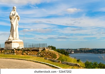 statue of Jesus Christ in Havana, Cuba