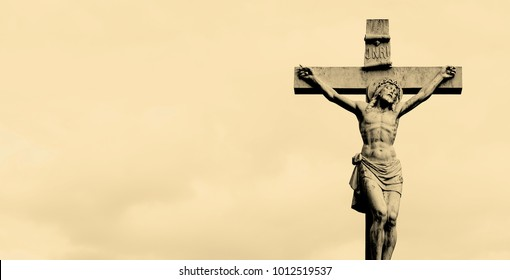 Statue of Jesus Christ on the cross