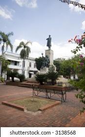 statue of Juan Pablo Duarte, founder of Dominican Republic, Santo Domingo