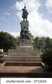 statue juan pablo duarte founder of dominican republic santo domingo