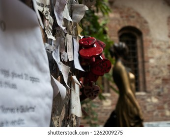 statue of Juliet in Verona, symbol of love and romance, ideal to represent the concept of love