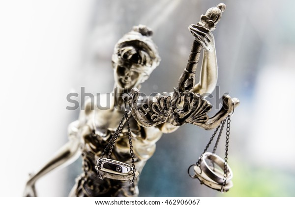 Statue of Justice Lady