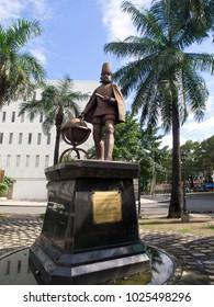 Statue of King Felipe II in Manila