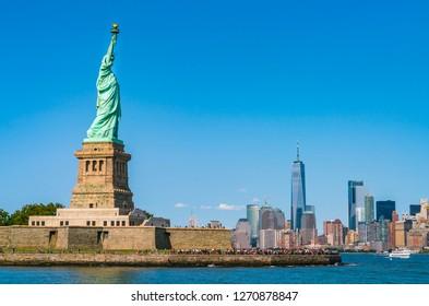 New York Statue Liberté Images Stock Photos Vectors