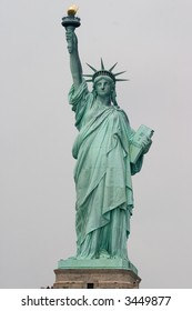 The Statue of Liberty.  Liberty Enlightening the World