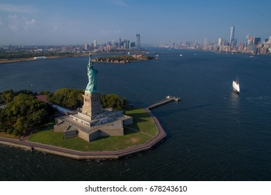 statue of liberty helicopter ride