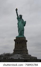 Statue of Liberty, Liberty Island, New York Harbor, USA