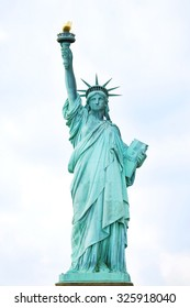 Statue of Liberty in New York City, USA. American symbol of freedom, NYC.