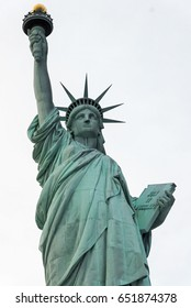 Statue of Liberty in New York City.