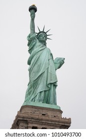The Statue of Liberty, New York. Symbol of freedom