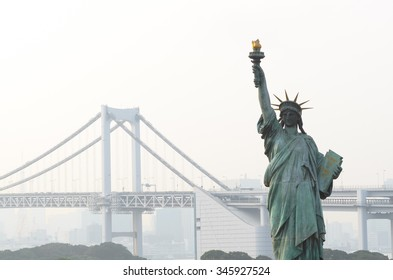 Statue of Liberty in Odaiba