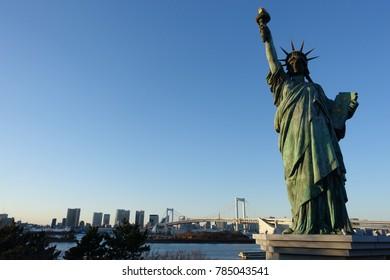 Statue of Liberty at Odaiba, Japan