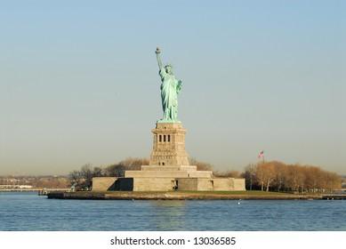 Statue of Liberty, on Liberty Island, New York