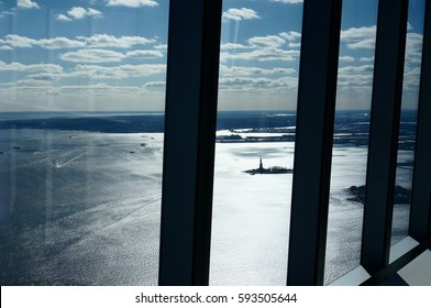 Statue Of Liberty View from Freedom Tower